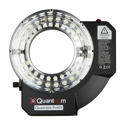 Quadralite Rx400 Ringflash lampa pierścieniowa