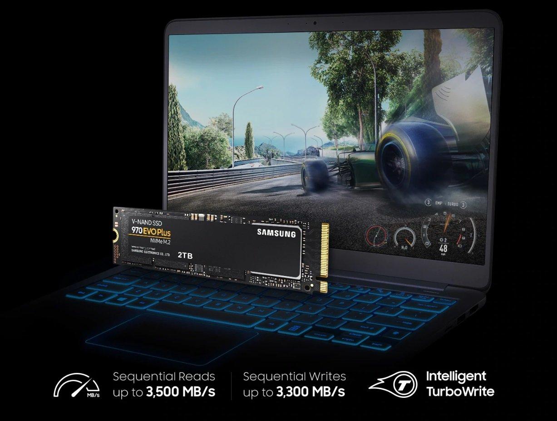 SAMSUNG 970 EVO PLUS MZ-V7S500BW 500GB NVMe M.2