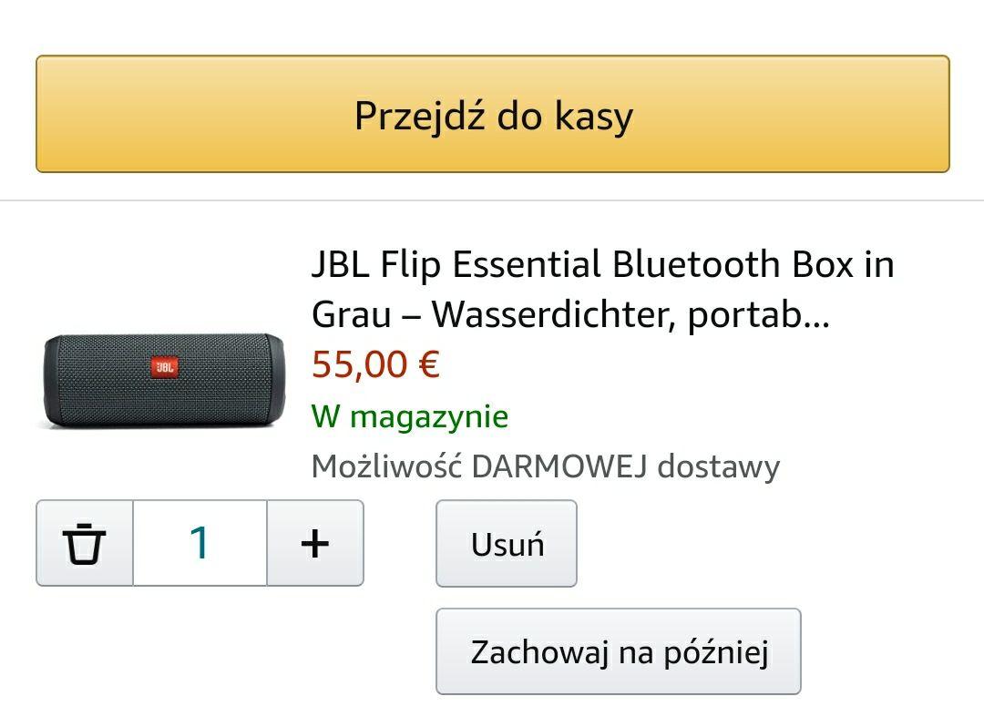Głośnik JBL Flip Essential €55