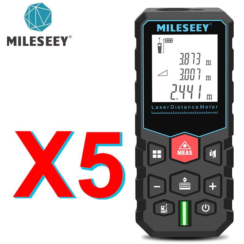 Dalmierz Laserowy Mileseey X5 - 60m