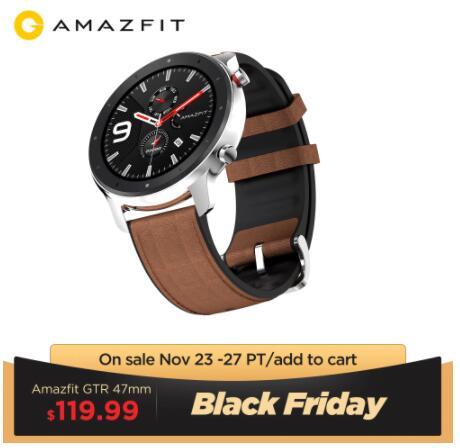 Amazfit GTR 47 - Wysyłka z PL