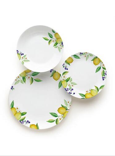 Porcelanowy zestaw Excelsa Lemon (18 elem.) za 179,95zł @ Limango