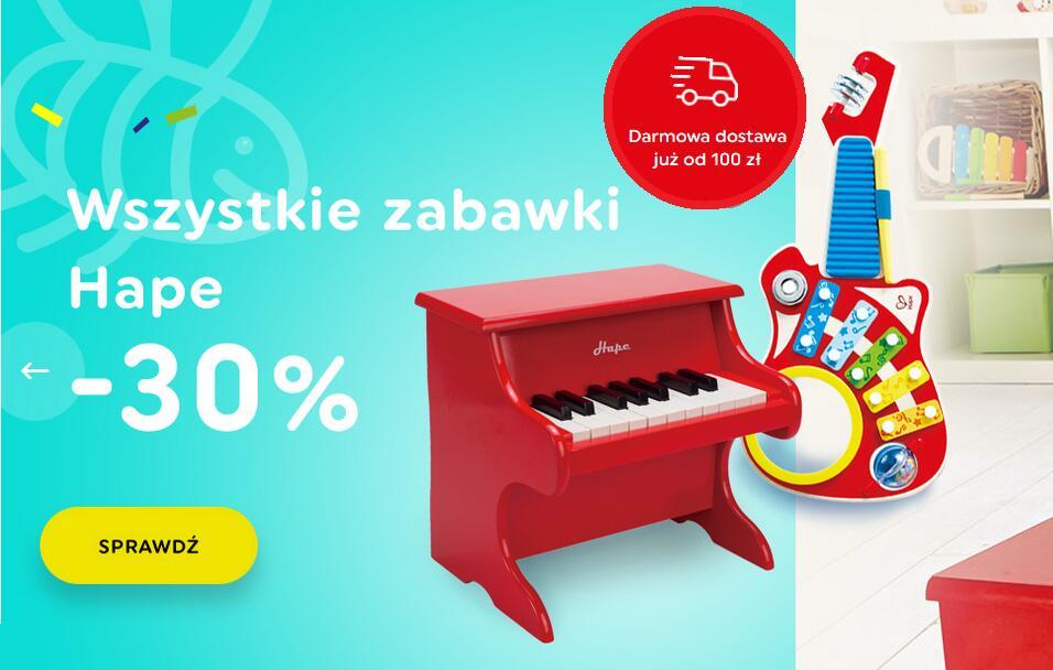 Wszystkie zabawki HAPE w sklepie Trefl -30%