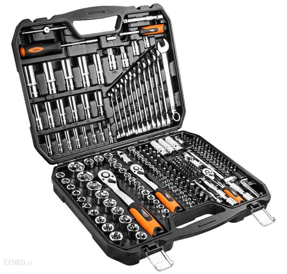 NEO TOOLS 08-671 zestaw kluczy 219 elementów
