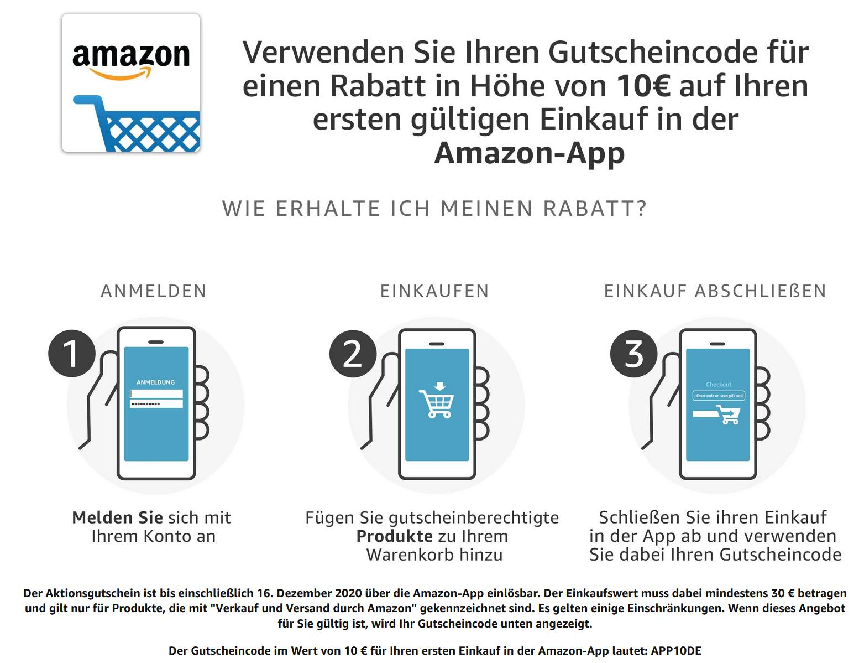 Amazon -10 Euro w aplikacji dla wybranych