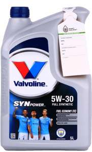 VALVOLINE SYNPOWER FE 5W30 - 5L smart allegro
