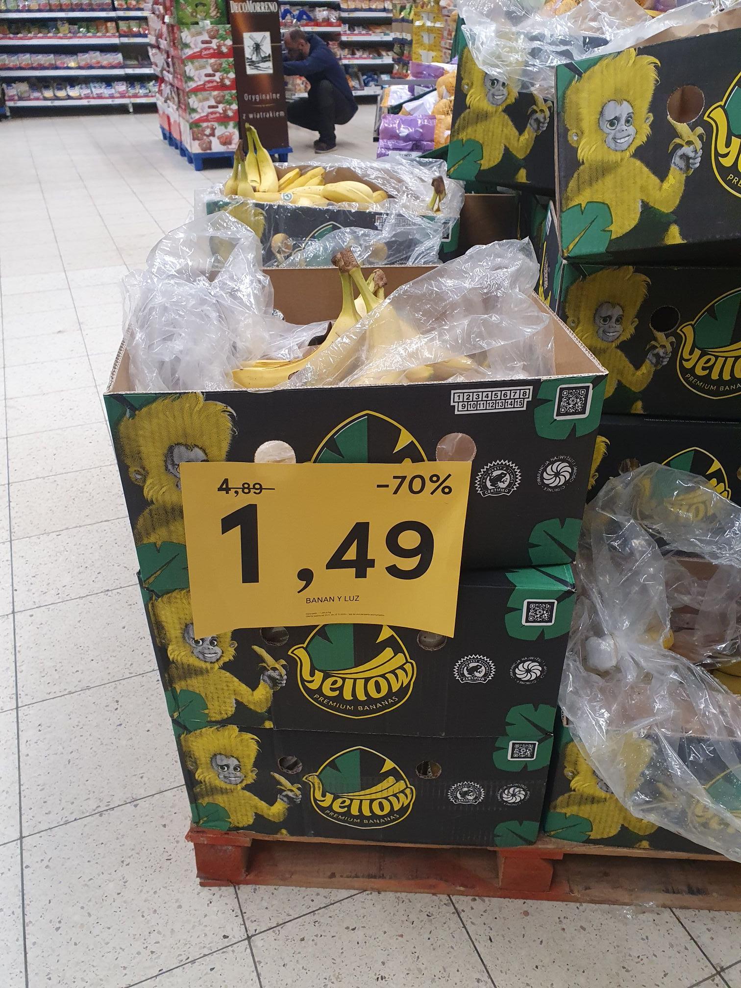 Banany @Tesco Kapelanka
