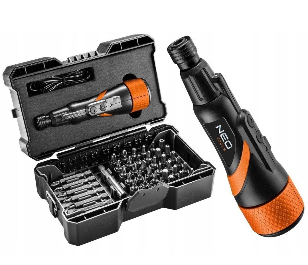 NEO Tools Wkrętak śrubokręt akumulatorowy micro-USB 3,6V