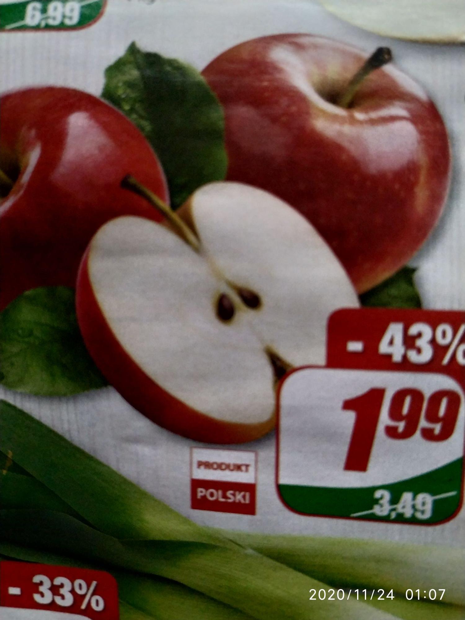 Jabłka polskie DINO