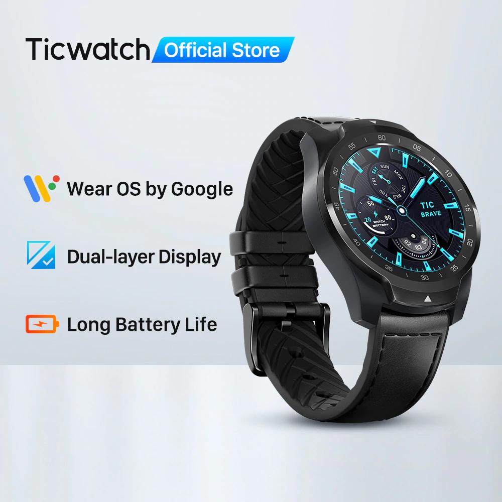 Smartwatch TicWatch Pro 2020 - oficjalny sklep producenta na AliExpress darmowa wysyłka z Francji