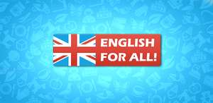 ZA DARMO: English for all! Pro (Android- Google Play)