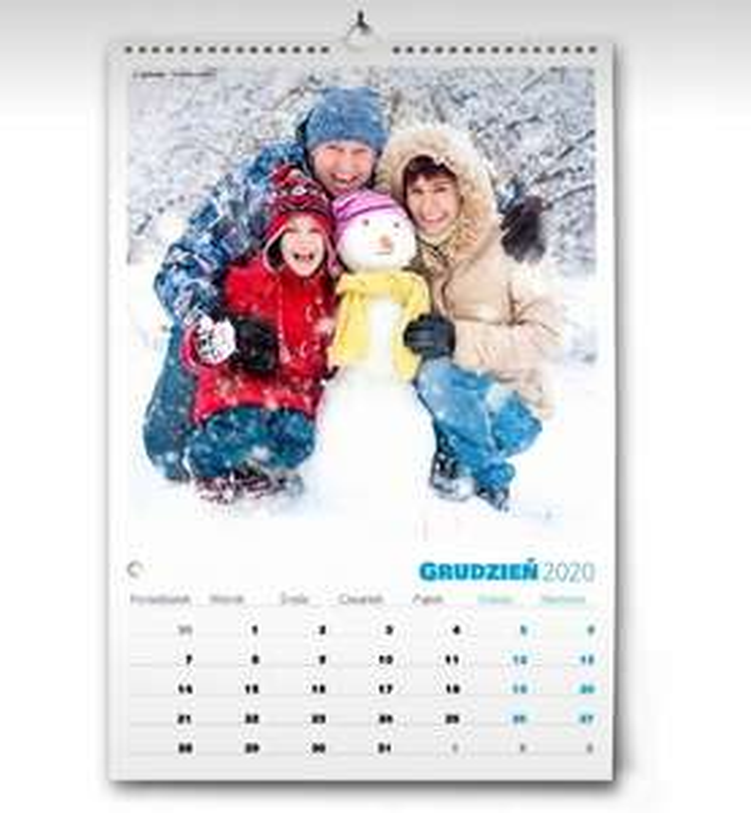 Kalendarz A3 na prezent