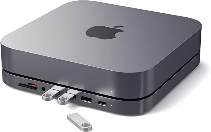 SATECHI stojak aluminiowy USB-C – kompatybilny z Apple Mac Mini (2018 i później) 56,19 €