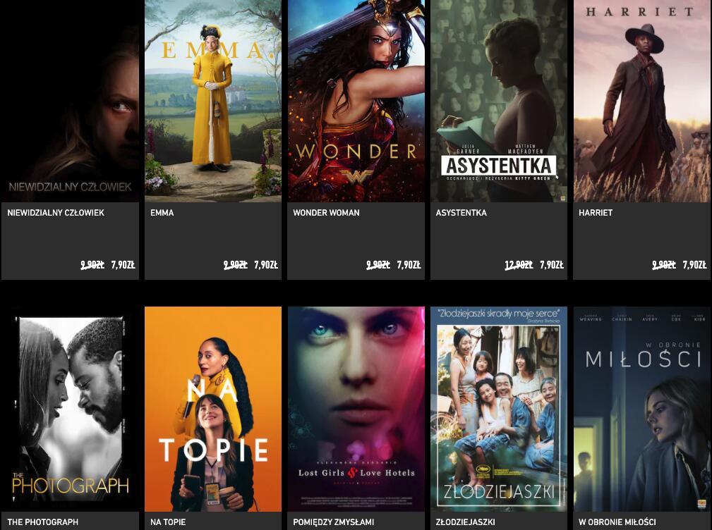CHILI. Wypożyczenie filmu za 7,90 zł w okazji Black Week
