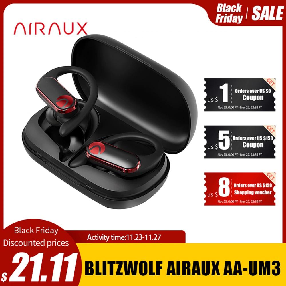 Słuchawki bezprzewodowe Airaux od Blitzwolf @Aliexpress
