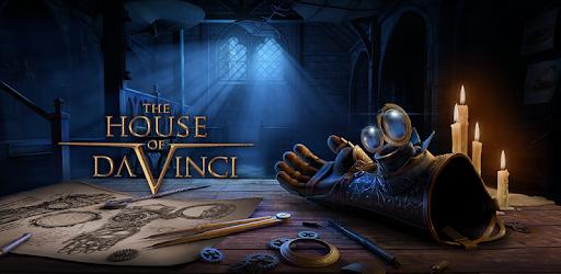 The House of Da Vinci, gra logiczna za 2.79zł na Androida (4.7*, ponad 100 tys. pobrań)