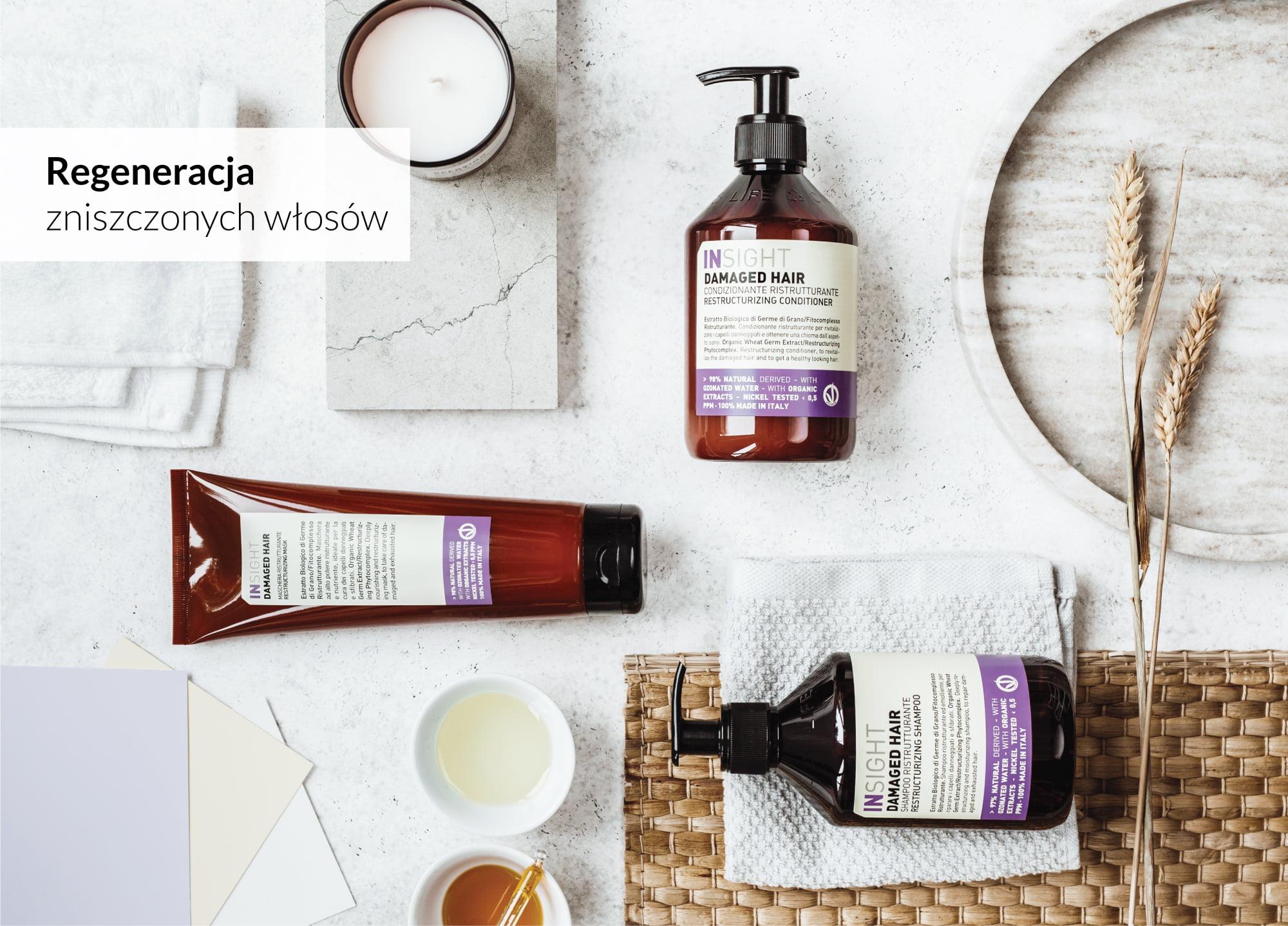 -40% na produkty do włosów marki Insight