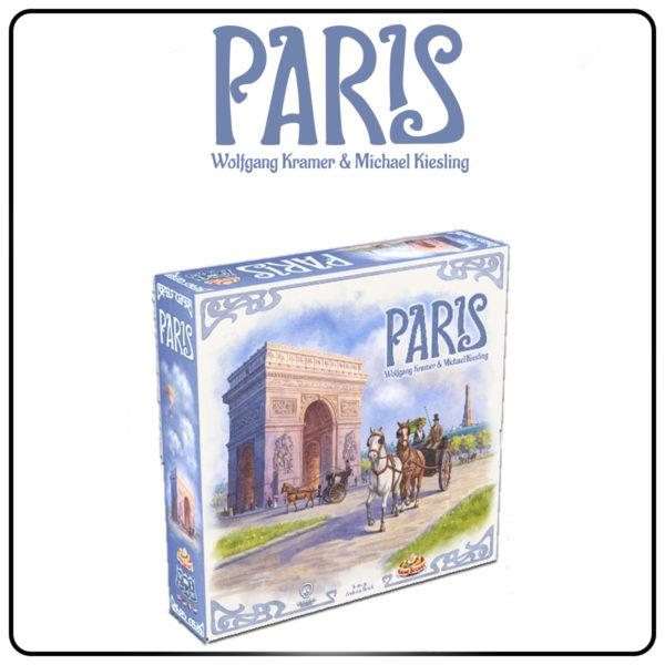 Gra planszowa Paris od wydawnictwa Czacha Games.