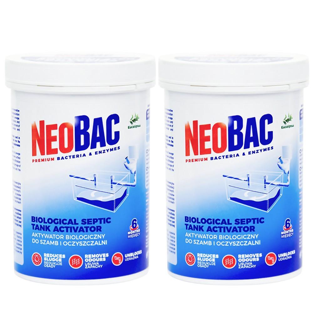 Bakterie do szamba NeoBac 1,2 kg -15%