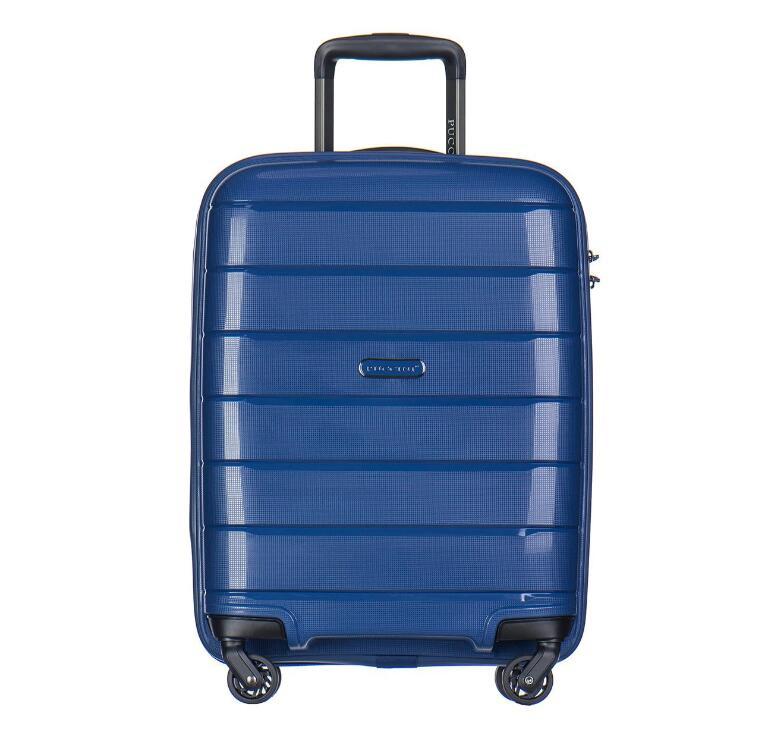 Walizka podróżna kabinowa Puccini granatowa TSA