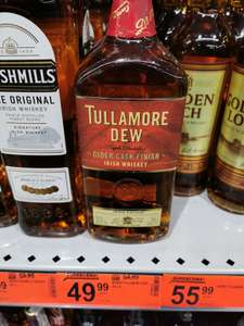 Whiskey Tullamore Dew Cider w Biedronce