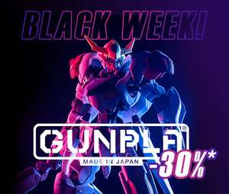 Gundam Black Week w muve.pl -30%