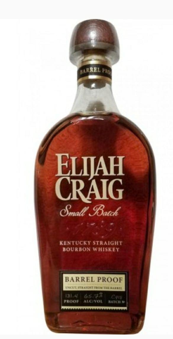Alma Kraków Elijah Craig Barrel Proof 12YO Bourbon Whiskey