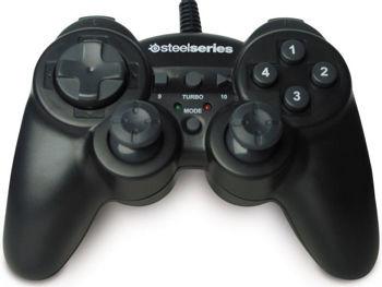 Pad SteelSeries 3GC Dual Vibration Joystick do Gier do PC | Refurbished 79% taniej