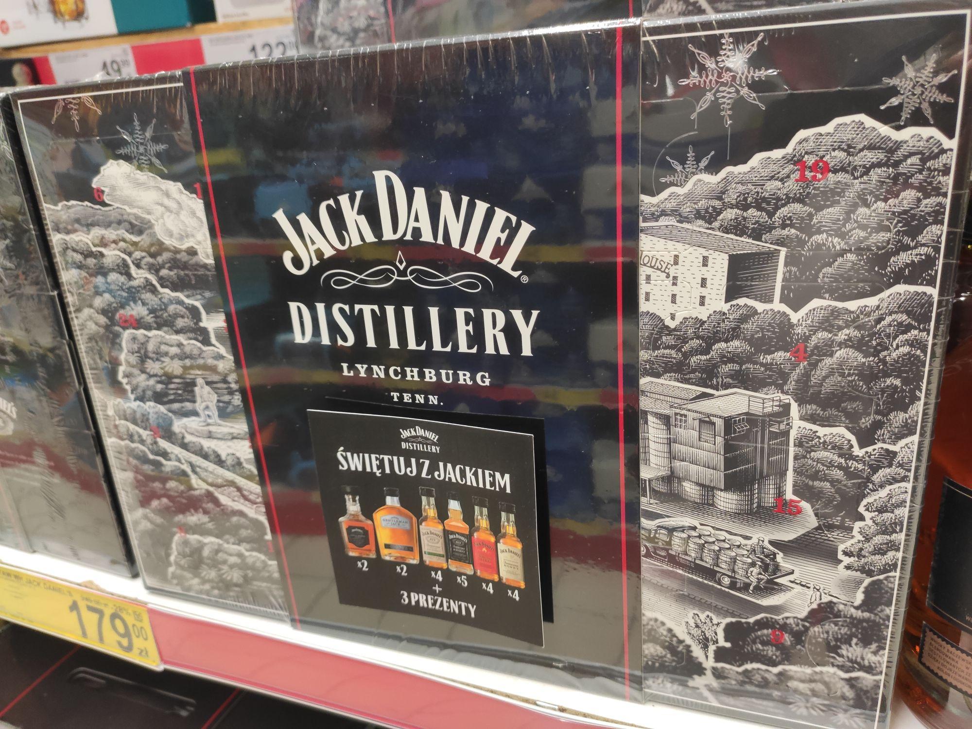 Kalendarz adwentowy Jack Daniels