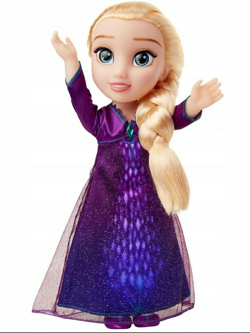 Kraina Lodu 2, śpiewająca lalka ELSA, 36 cm wysokości