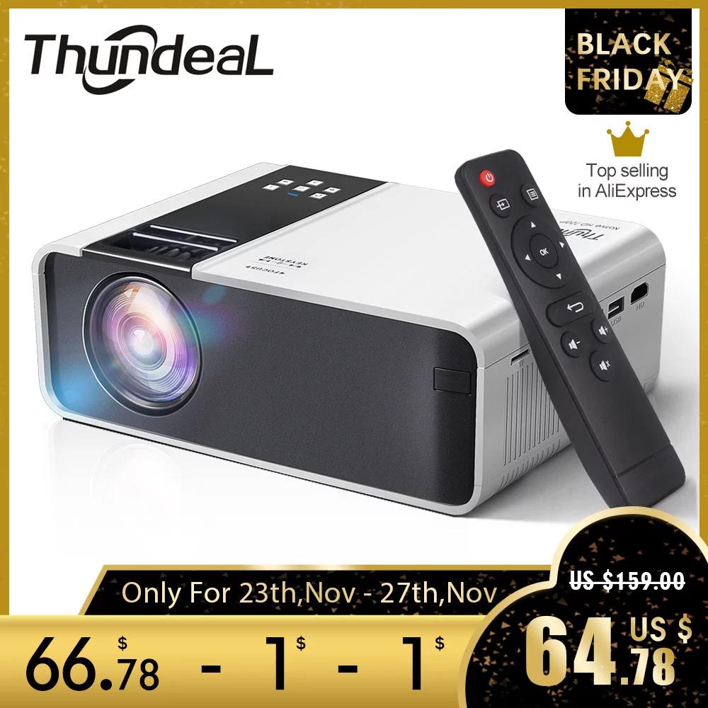 Projektor Thundeal - TD90K HD ready 720p w cenie uzywnej lampy do markowego rzutnika
