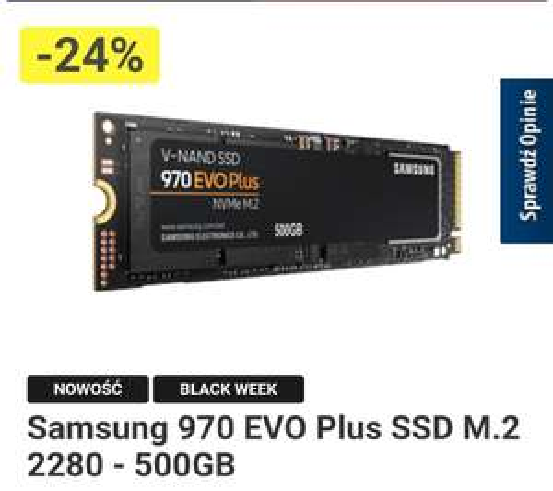 970 EVO PLUS 500 GB