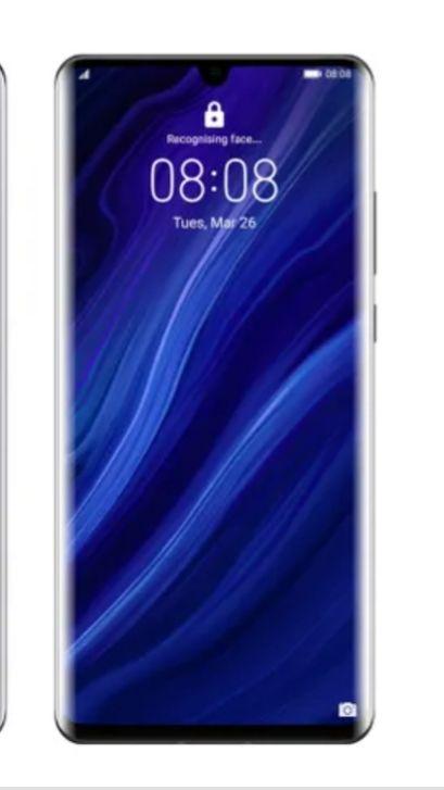 Smartfon Huawei P30 PRO czarny i niebieski