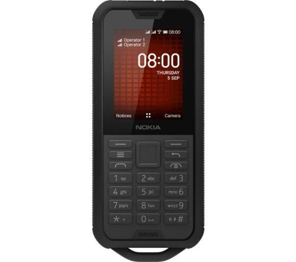 Telefon Nokia 800 TA-1186 (wytrzymały, wodoodporny telefon z dual sim, 4G) @ Euro