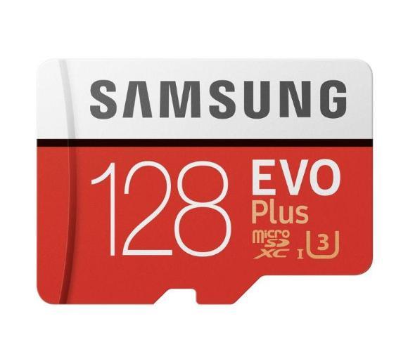 Karta pamięci Samsung microSDXC EVO Plus 128 GB UHS-I U3. RTV Euro AGD - pewny sklep i gwarancja