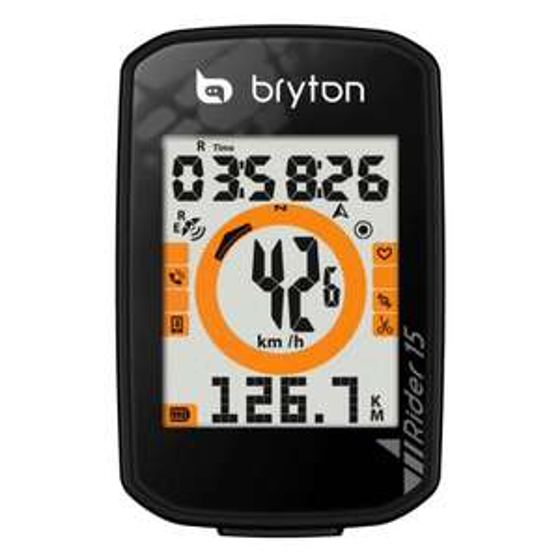 Bryton Rider 15E Licznik rowerowy GPS z eksportem do Stravy