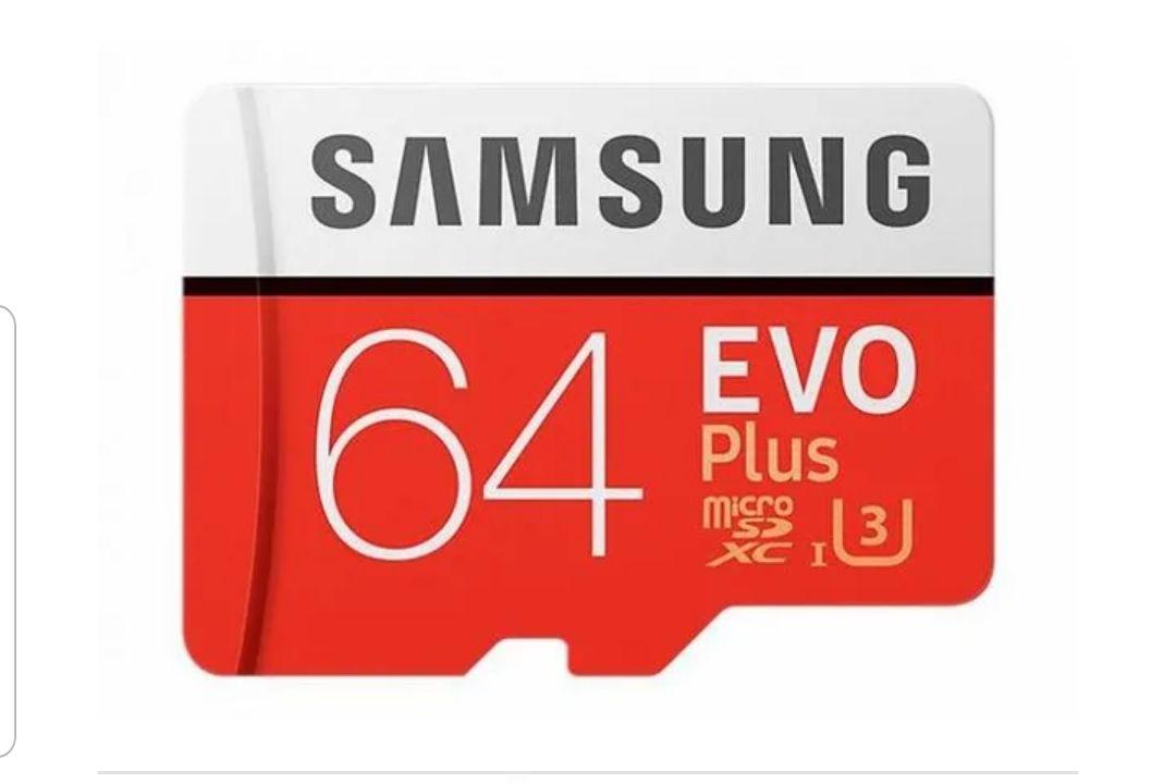 Karta pamięci SAMSUNG EVO+ microSD 64GB 100MB/s