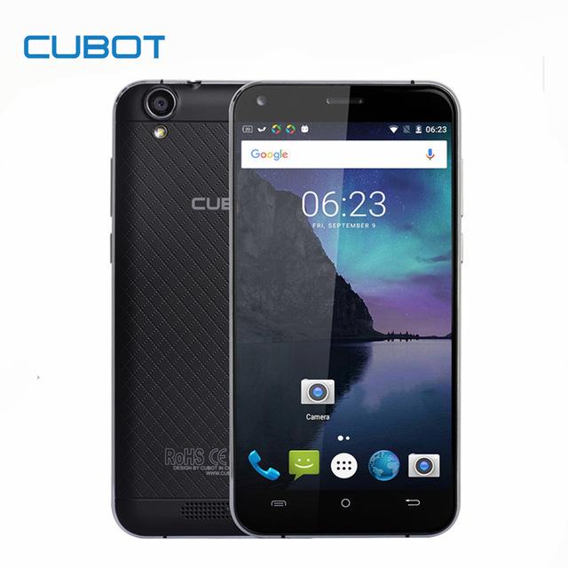 "Smartfon CUBOT MANITO 5"" MTK6737 3GB RAM LTE z EU (DE bez VAT)@ Aliexpress"