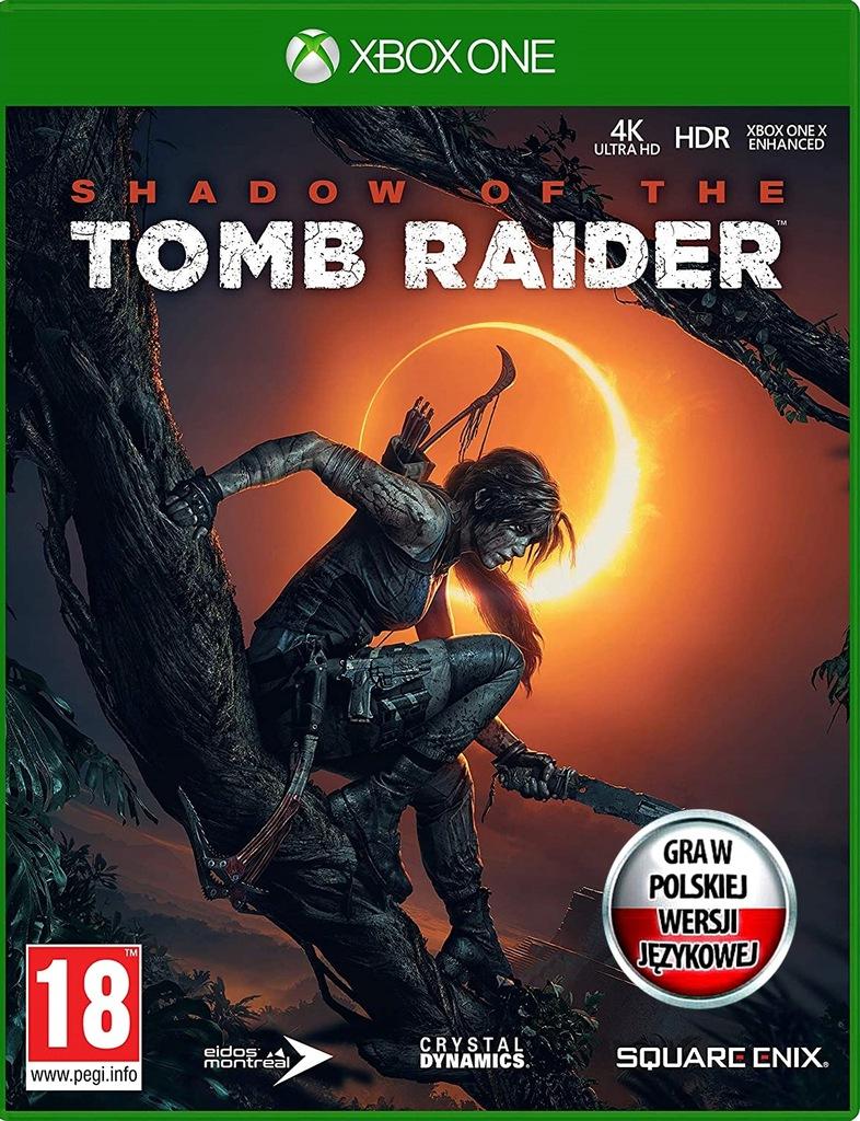 Shadow of the TOMB RAIDER Polski Dubbing Xbox One