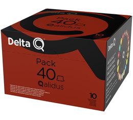 Kapsułki Delta Q (ekspres z Biedronki) taniej z Francji (również te niedostępne w Polsce)