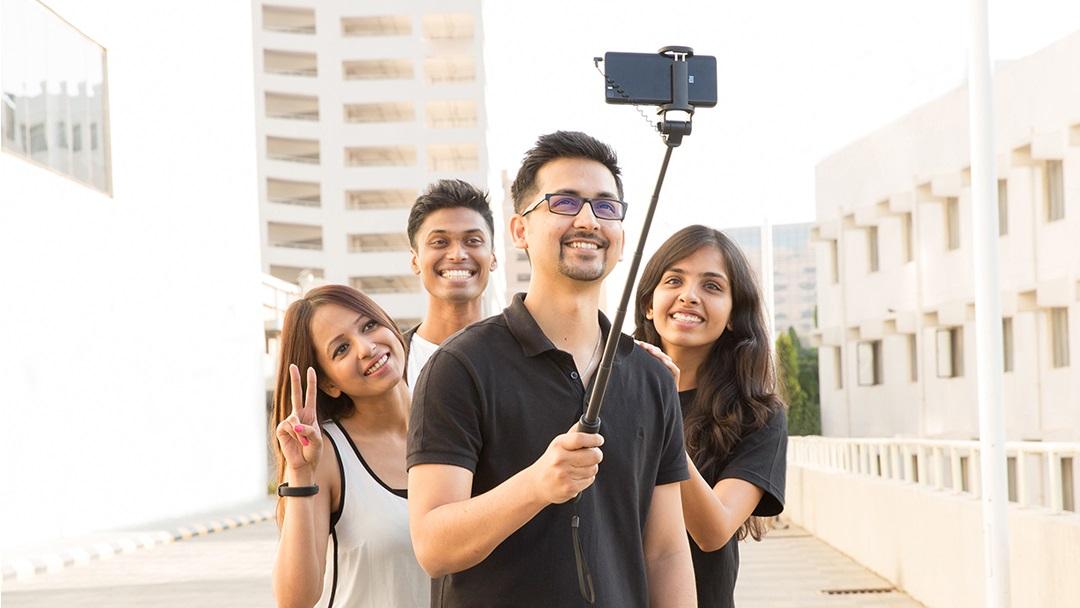 Mi Selfie Wired Stick Black