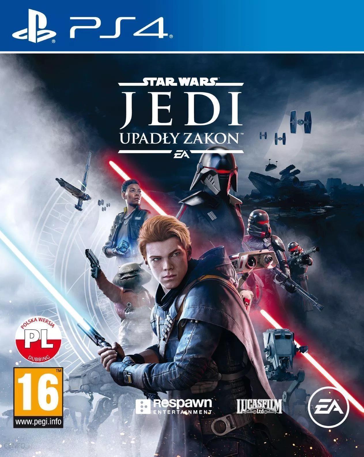 Star Wars Jedi: Upadły Zakon Gra PS4 + koszulka gratis do wyboru