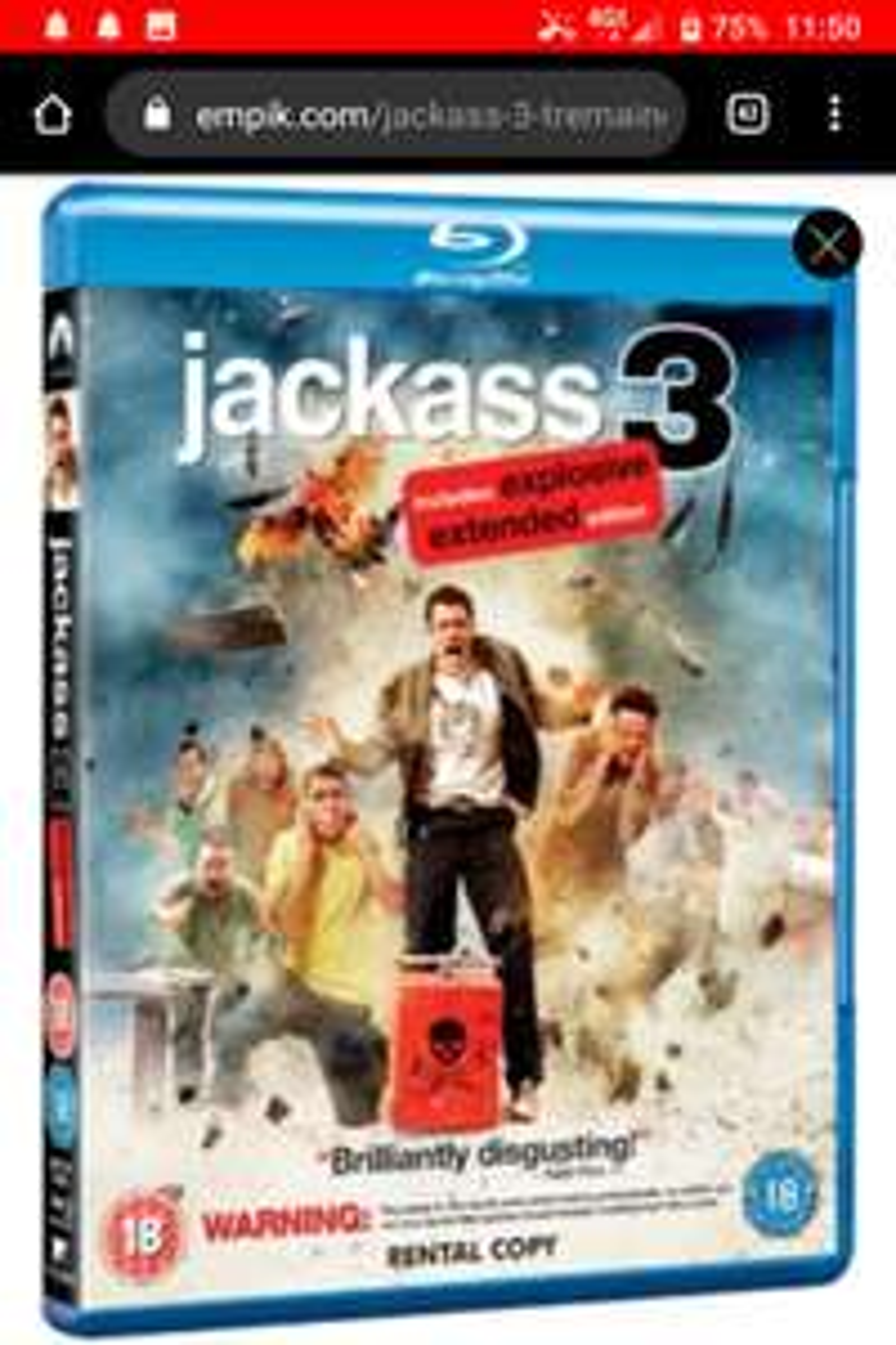 Jackass 3 Blu Ray