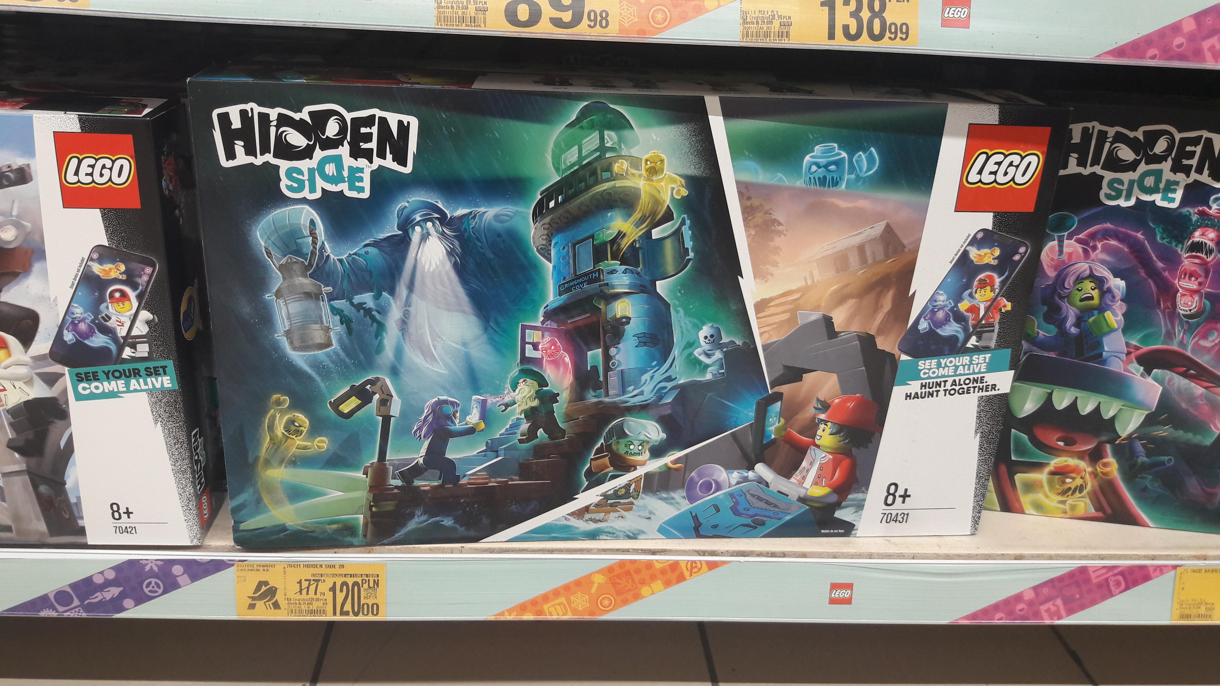 Lego Hidden Side 70431 Auchan Bielany Wrocławskie