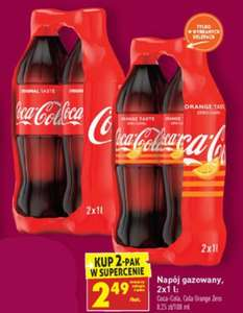 Coca-Cola / Coca-Cola Orange Zero 1L | Biedronka