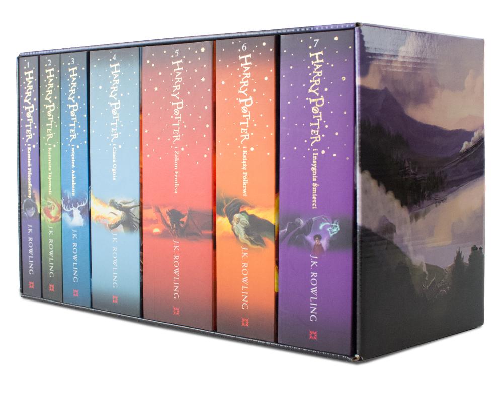 Harry Potter siedmiopak (wszystkie części 1-7)