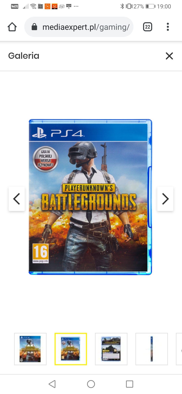 PlayerUnknowns Battlegrounds Gra PS4