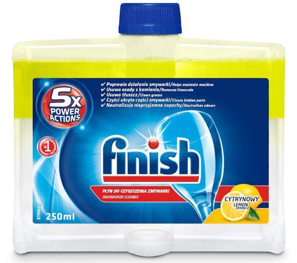 Finish środek do czyszczenia zmywarek cytrynowy 250 ml odb.os.0zł