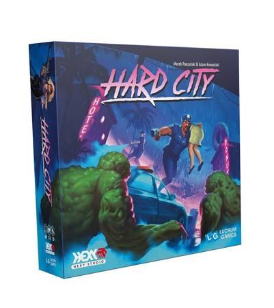 Hard city gra planszowa (165 zł / sztuka przy zakupie dwóch)