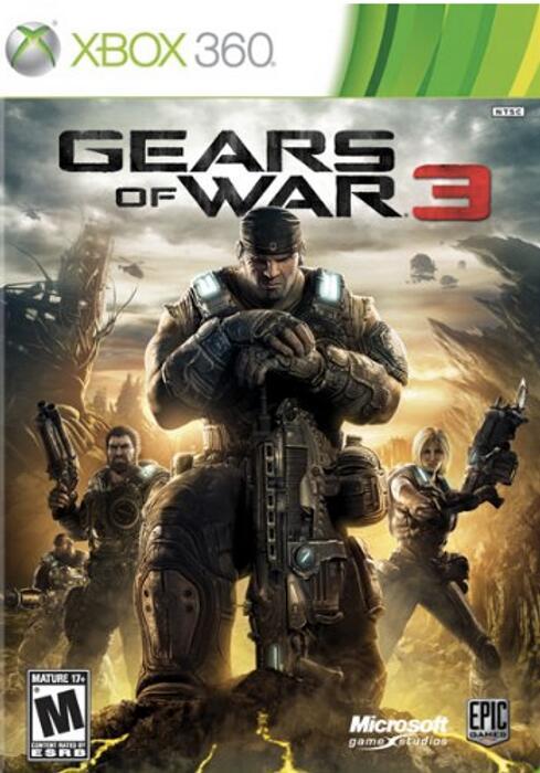 GEARS OF WAR 3 i GEARS OF WAR 2 po 5,09 zł @ Xbox 360/Xbox One